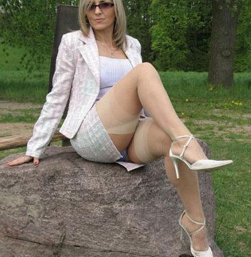 Annie, une femme cougar de Suisse