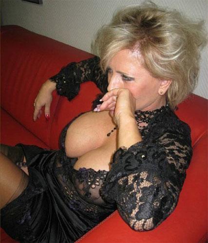Christelle cougar indépendante veut te séduire